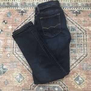 American Eagle Slim Straight Dark Denim Jeans 31